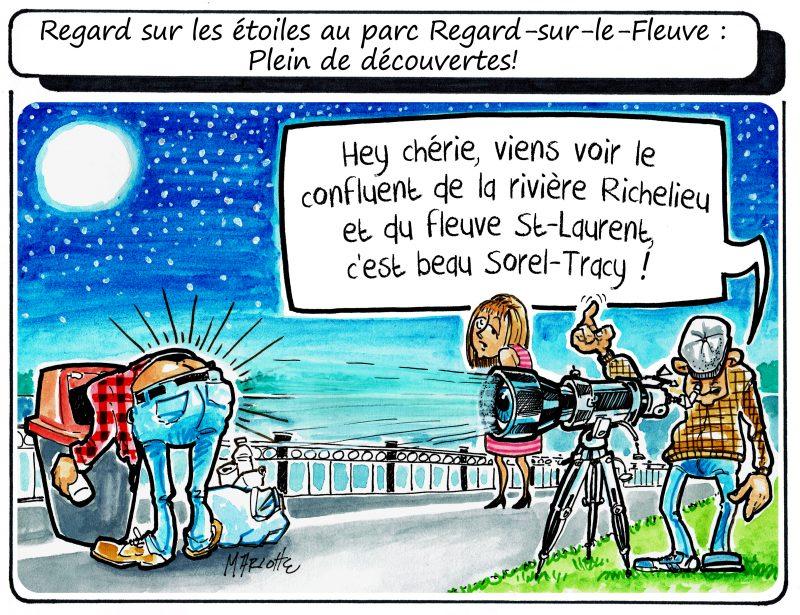 Caricature de Gilles Bill Marcotte. | Gilles Bill Marcotte