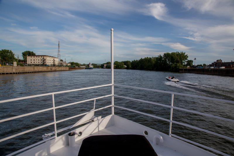 Pour une dernière fois, les gens de la région pourront embarquer à deux reprises pour une croisière Navark. | Photo: TC Média - Pascal Cournoyer