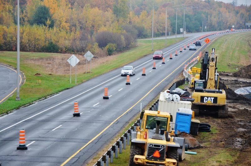 Deas travaux sur l'autoroute 30 débutent aujourd'hui. | Photo: TC Média - Archives