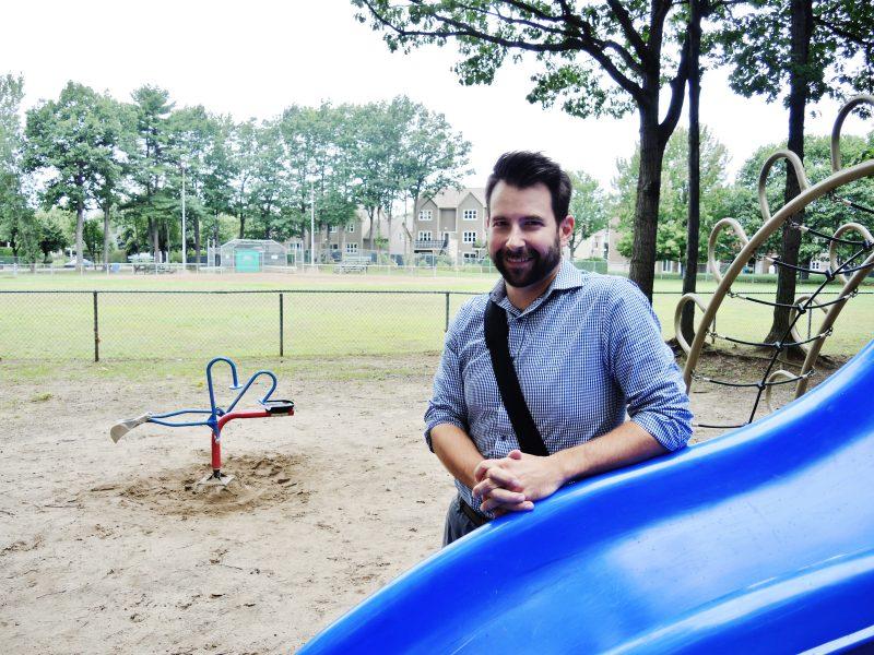 Le parc des Trembles sera complètement méconnaissable après les travaux de 30 000$ rendus possibles par le conseiller Patrick Péloquin. | Photo: TC Média Sarah-Eve Charland