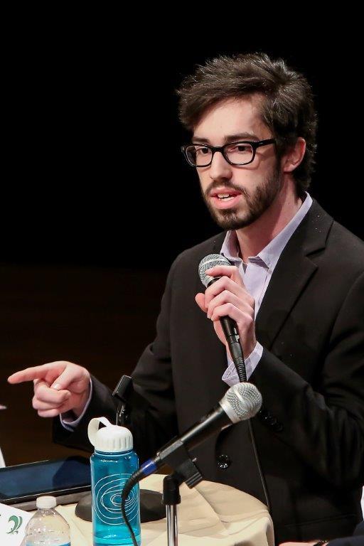 Vincent Pouliot s'était présenté pour le Parti vert du Québec lors de l'élection partielle dans Richelieu au printemps 2015. | TC Média - Archives/Pascal Cournoyer
