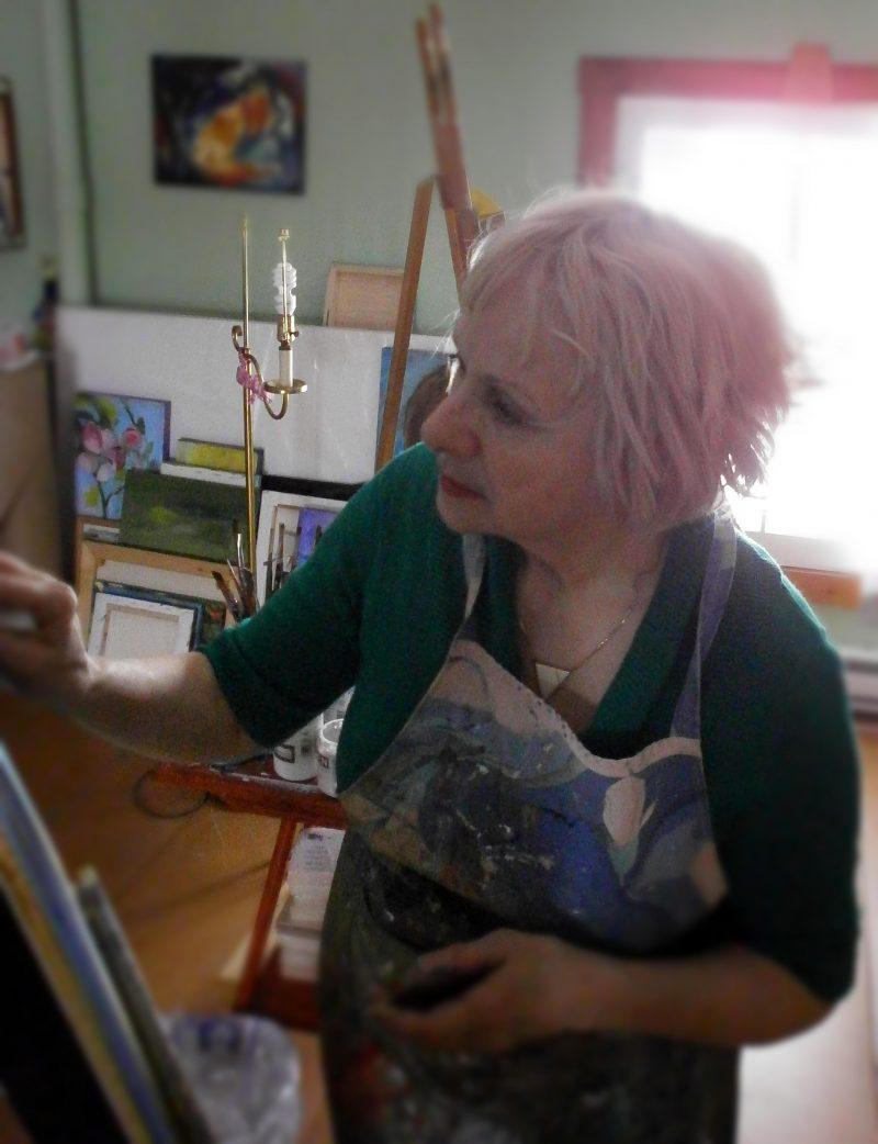 L'artiste de Saint-Ours Ginette Dorais exposera pour la première fois à la Maison des gouverneurs de Sorel-Tracy du 4 novembre au 24 janvier. | Photo: Gracieuseté