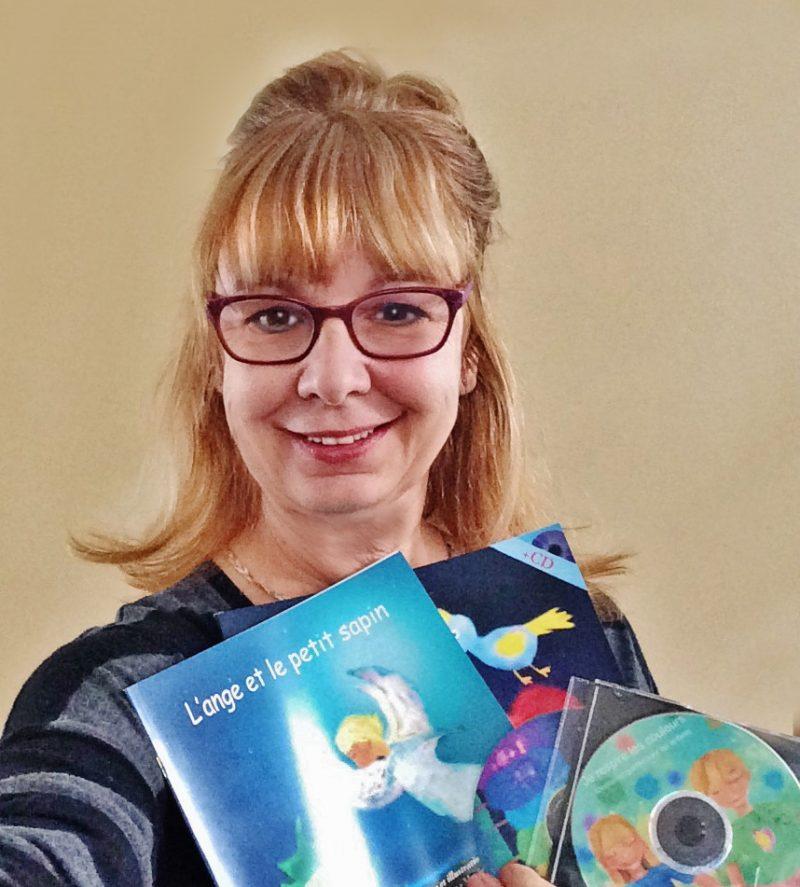 L'écrivaine Francine Grimard a offert plusieurs nouveaux livres et disques au cours des derniers mois. | Photo: Gracieuseté
