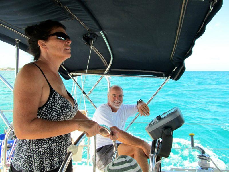Louise Dumont et Denis Gauthier ont réalisé leur rêve de voyager pendant près de deux ans sur un voilier. | Photo: Gracieuseté