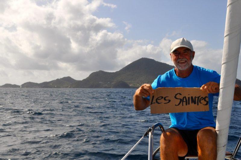 Ils ont visité plusieurs îles, dont les îles des Saintes. | Photo: Gracieuseté