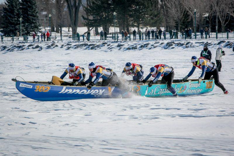L'édition 2016 de la course de canot à glace de Sorel-Tracy se déroulera le 27 février. | TC Média - Pascal Cournoyer