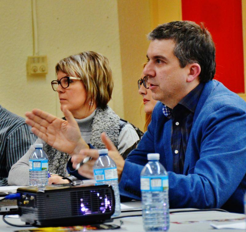 Le nouveau président du Festival de la gibelotte, Benoît Lefebvre, a dévoilé les états financiers le 4 février dernier. | Photo : TC Média – Julie Lambert