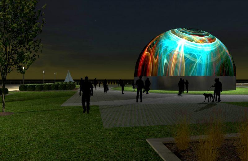 Le concept d'immersion interactive Statera se déroulera sur le quai no 2, près du traversier, à partir de juin 2018. | Gracieuseté