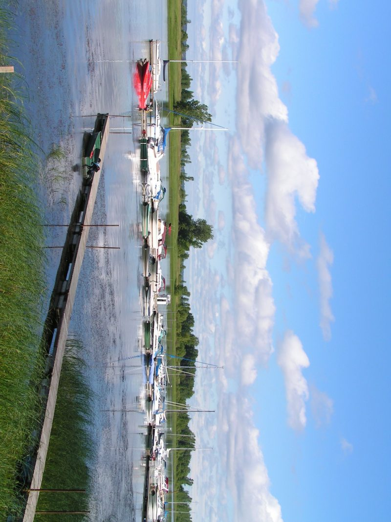 La Marina de Contrecœur en été. | gracieuseté/Ville de Contrecœur
