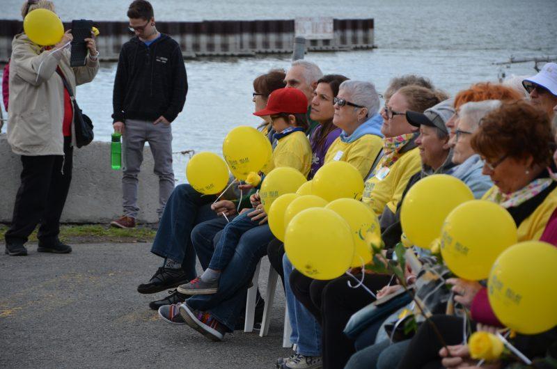 Soixante-sept survivants du cancer ont participé à l'événement. | TC Média - Sarah-Eve Charland