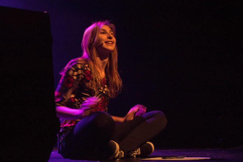 Le clou du spectacle, Violette Cantin lors de la prestation de « Lucie ». | Antoine Quach-An Nguyen