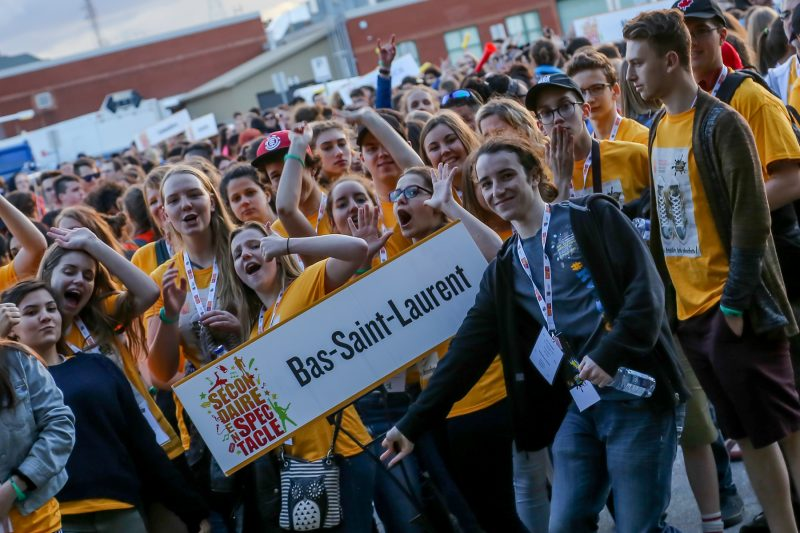 Des centaines de jeunes ont participé à l'événement. | Pascal Cournoyer