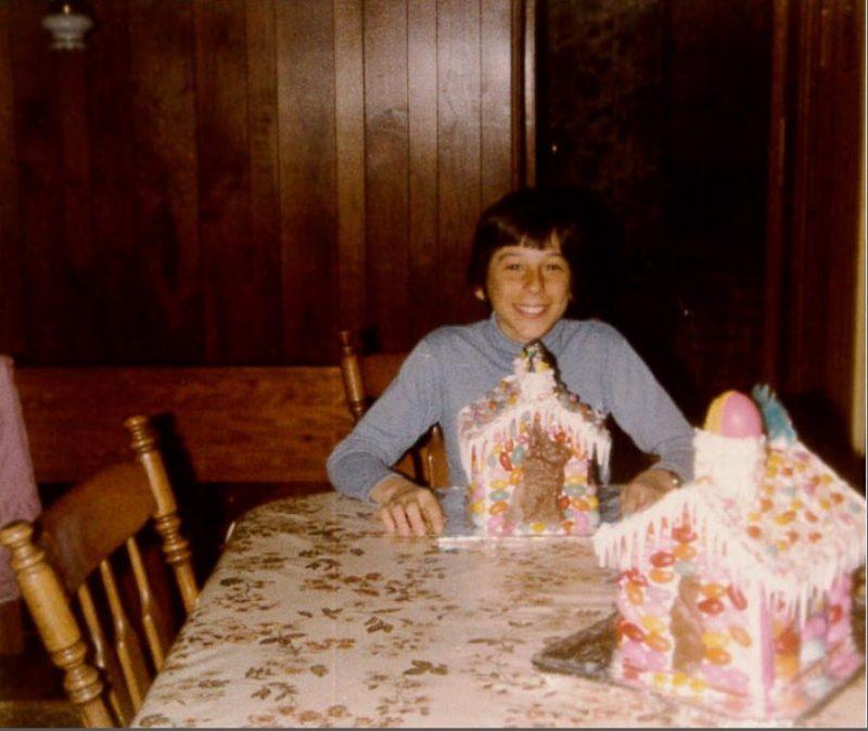 Dominic Arpin dans sa jeunesse.