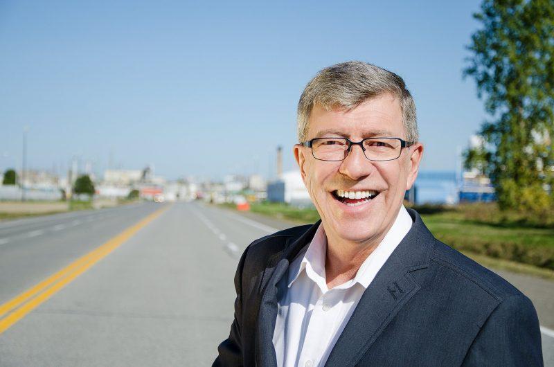Le candidat du parti libéral, Claude Carpentier. | Gracieuseté