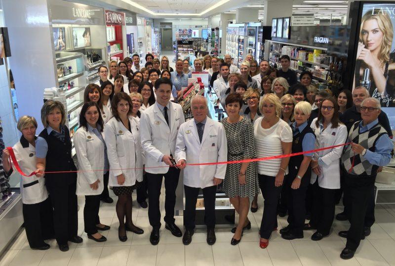 Un investissement de plus de 1 085 000$ a été nécessaire pour rénover la pharmacie PJC Jean Coutu de Sorel-Tracy. | Photo: Le Groupe Jean Coutu est