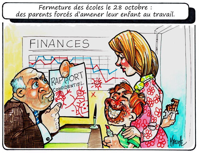 Caricature de Gilles Bill Marcotte, 3 novembre 2015. | Gilles Bill Marcotte
