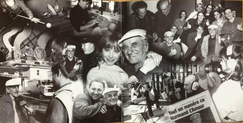 Son premier CD vendu chez Archambault, en 1998. | Photo TC MEDIA - Gracieuseté