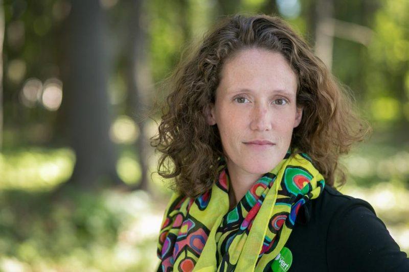 La candidate du Parti vert du Canada, Corina Bastiani.