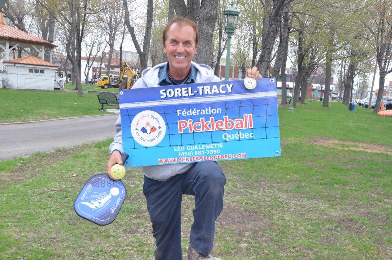 Léo Guillemette, fier représentant du Pickleball à Sorel-Tracy. | Photo: TC Média – Jean-Philippe Morin