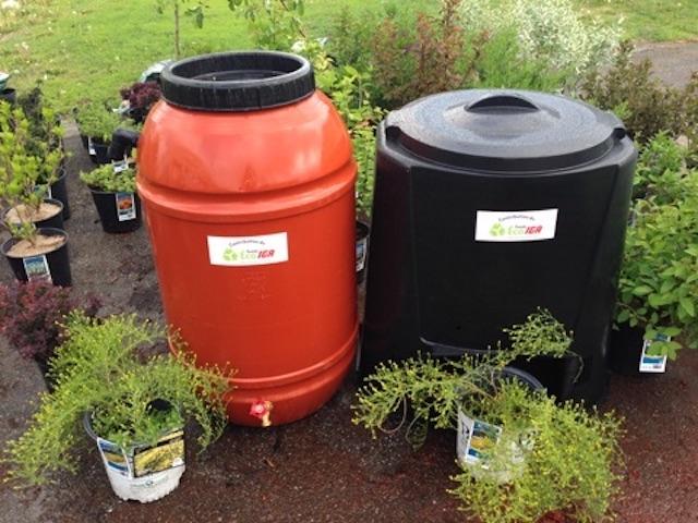 En tout, 70 barils ou composteurs seront distribués aux citoyens le 30 avril par la Ville de Sorel-Tracy.   Gracieuseté