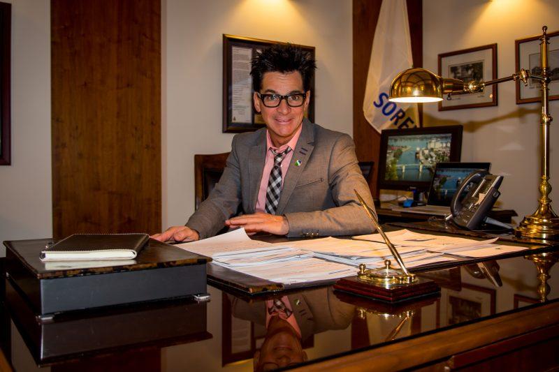 Le maire de Sorel-Tracy, Serge Péloquin, a accordé une entrevue au journal Les 2 Rives. | Photo: TC Média - Pascal Cournoyer
