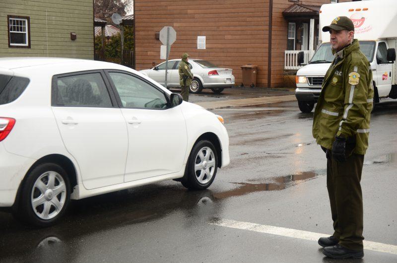Les policiers ont tenu plus d'une dizaine d'opérations de sensibilisation au cours de la dernière semaine. | TC Média - Sarah-Eve Charland