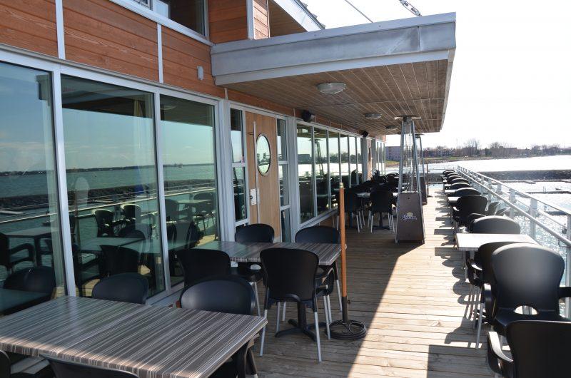 La Marina de Saurel et le restaurant Le Belvédère ont été inauguré le 5 mai à Sorel-Tracy. | TC Média - Sarah-Eve Charland