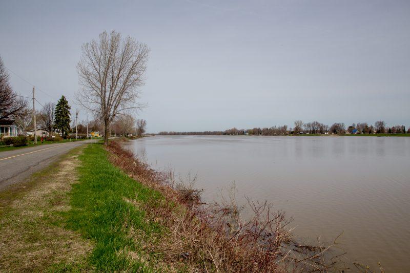 Les municipalités de Yamaska et de Sainte-Anne-de-Sorel se préparent aux inondations printanières. | TC Media - Pascal Cournoyer