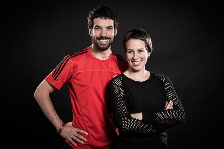 Charles Hamelin et Marianne St-Gelais. | Photo: Gracieuseté