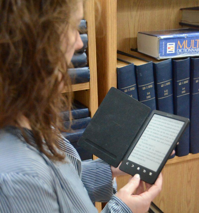 Les livres numériques ne feront pas leur entrée dans les bibliothèques municipales de Sorel-Tracy avant décembre 2015.