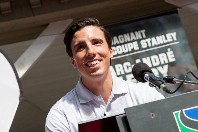 Marc-André Fleury a amené la Coupe Stanley à Sorel-Tracy pour une deuxième fois. | TC Média - Pascal Cournoyer