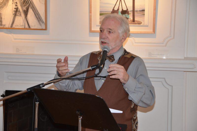 L'auteur Louis Caron animera plusieurs ateliers. | TC Média - Sarah-Eve Charland
