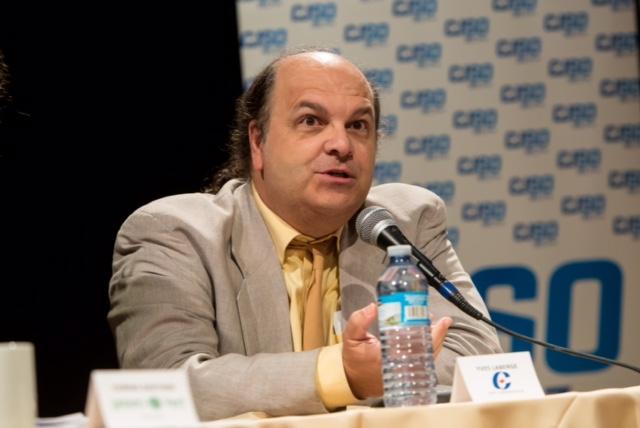 Le candidat du Parti conservateur, Yves Laberge.   TC Média - Pascal Cournoyer