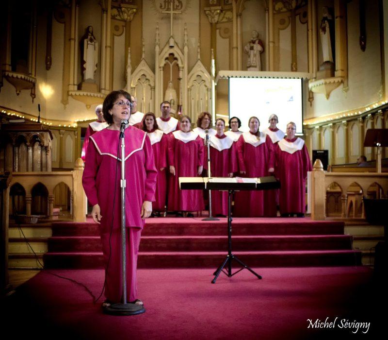 Les choristes du Chœur Gospel de la Montérégie s'amuseront à interpréter des chansons de Noël le 10 décembre.   Photo: Gracieuseté - Michel Sevigny