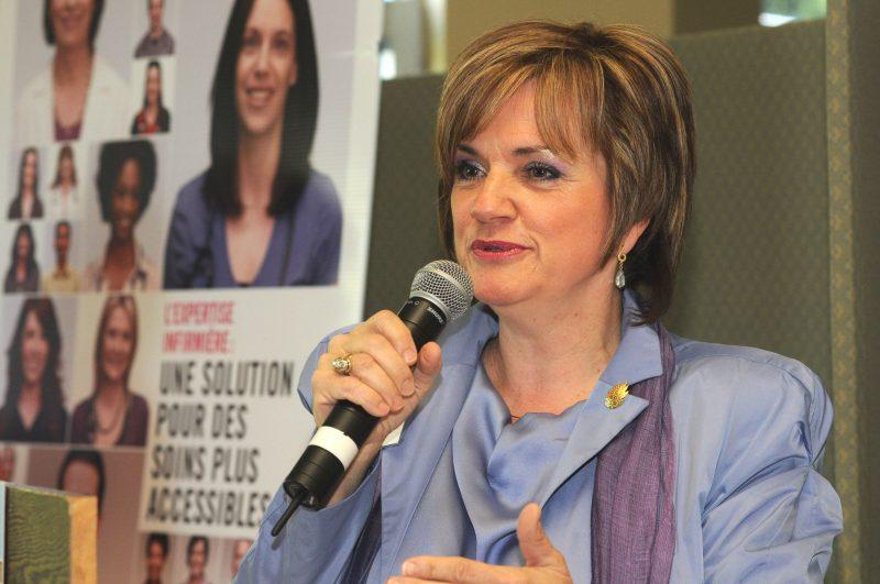 La présidente-directrice générale du CISSS Montérégie-Est, Louise Potvin. | TC Média -Archives