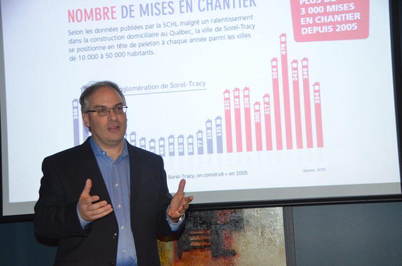 Le président de la Chambre de commerce, Laurent Cournoyer.   Photo: TC Média - Archives