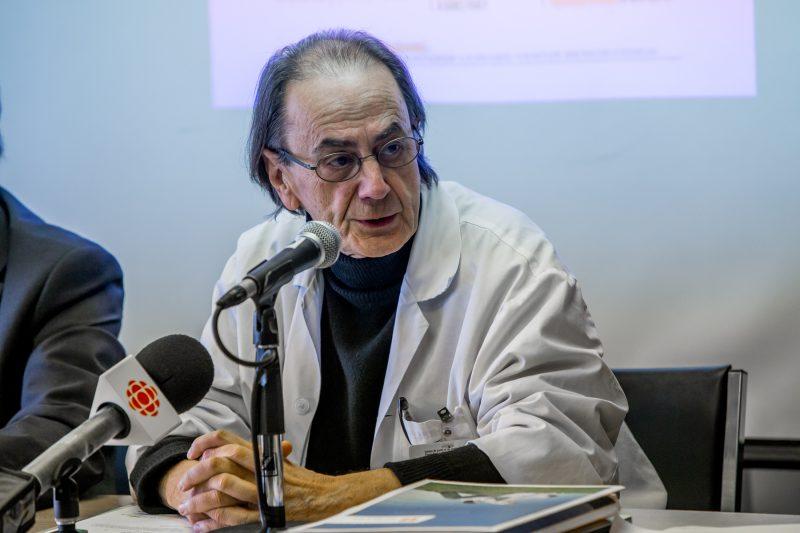 Le pneumologue Jacques Godin. | TC Média - Pascal Cournoyer
