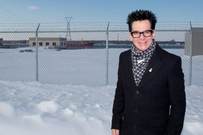 Le maire Serge Péloquin cherche maintenant à acquérir les terrains d'Hydro-Québec. | TC Média - Pascal Cournoyer