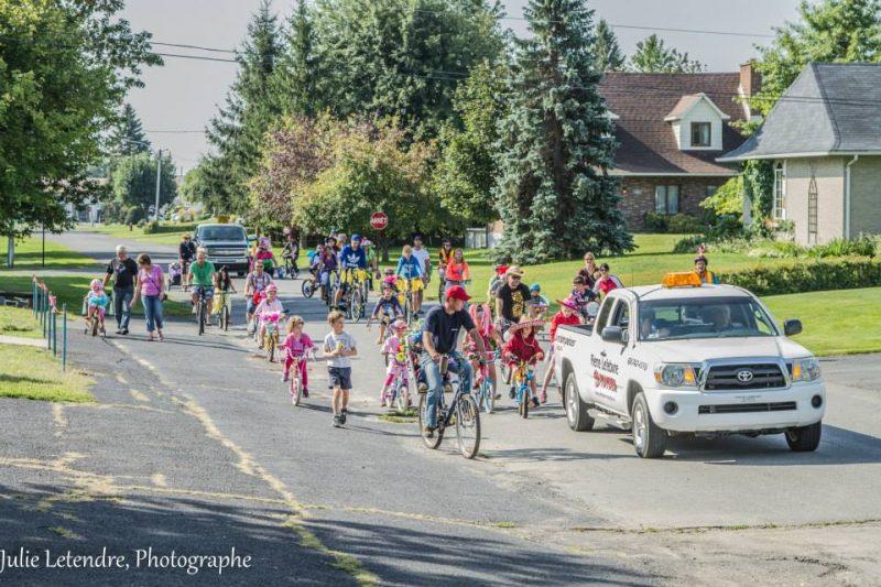 La parade des vélos décorés sera de retour le 23 août au Festival des Gros Casques de Yamaska. | Gracieuseté/Julie Letendre