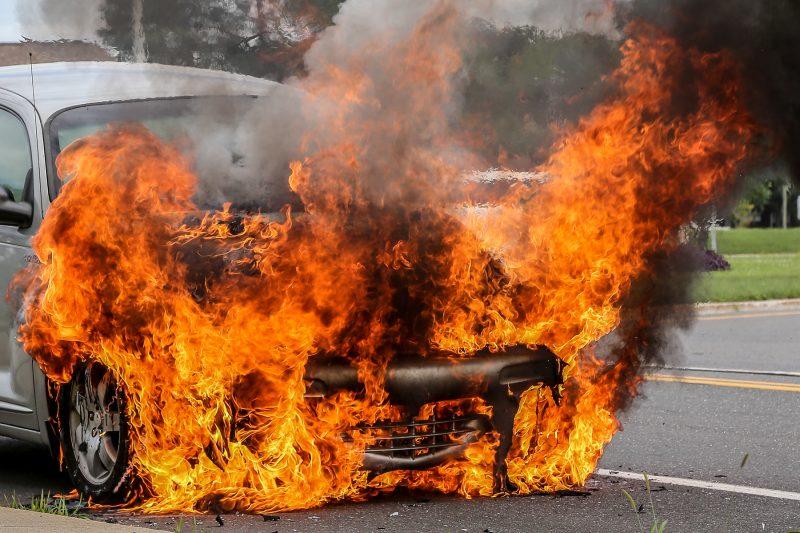 Bien qu'imposant, l'incendie a rapidement été maîtrisé. | TC Média - Pascal Cournoyer