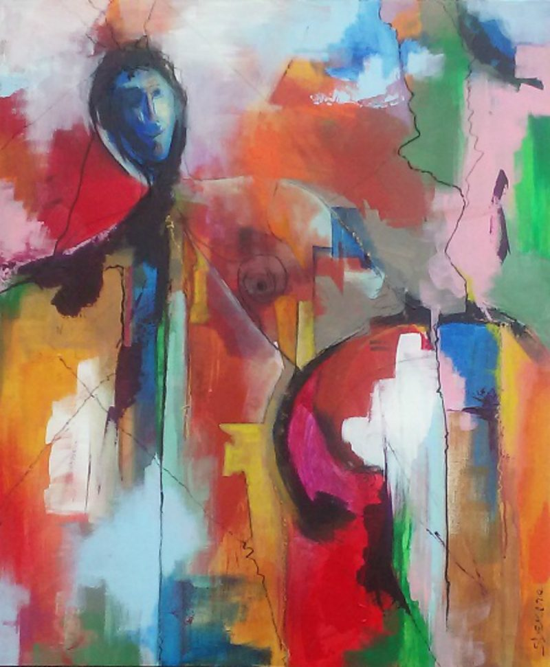 Le peintre Sylvain Demers utilisera différents médiums pour s'exprimer lors de son exposition présentée à la Galerie Horizon en octobre. | Gracieuseté