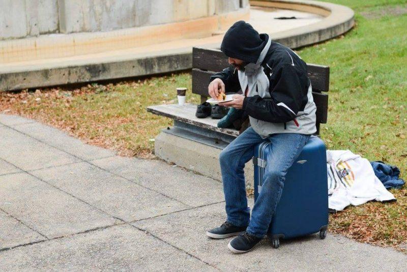 D'autres ont pu manger à leur faim. | Photo: Gracieuseté