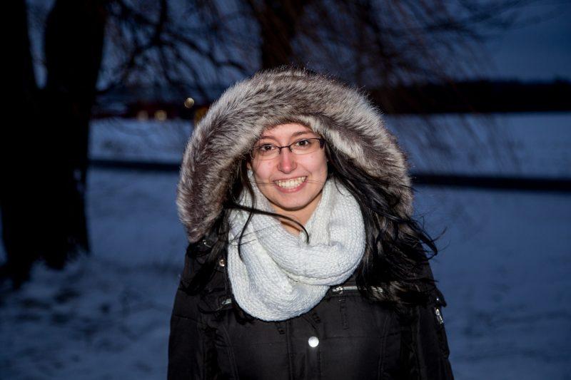 Après avoir vécu le pire, Alexandra Robichaud entrevoit l'avenir avec positivisme.   TC Média – Pascal Cournoyer