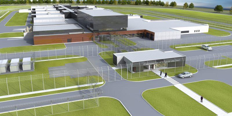 La nouvelle prison de Sorel-Tracy devrait être prête cet été.   Photo: TC Média - Gracieuseté