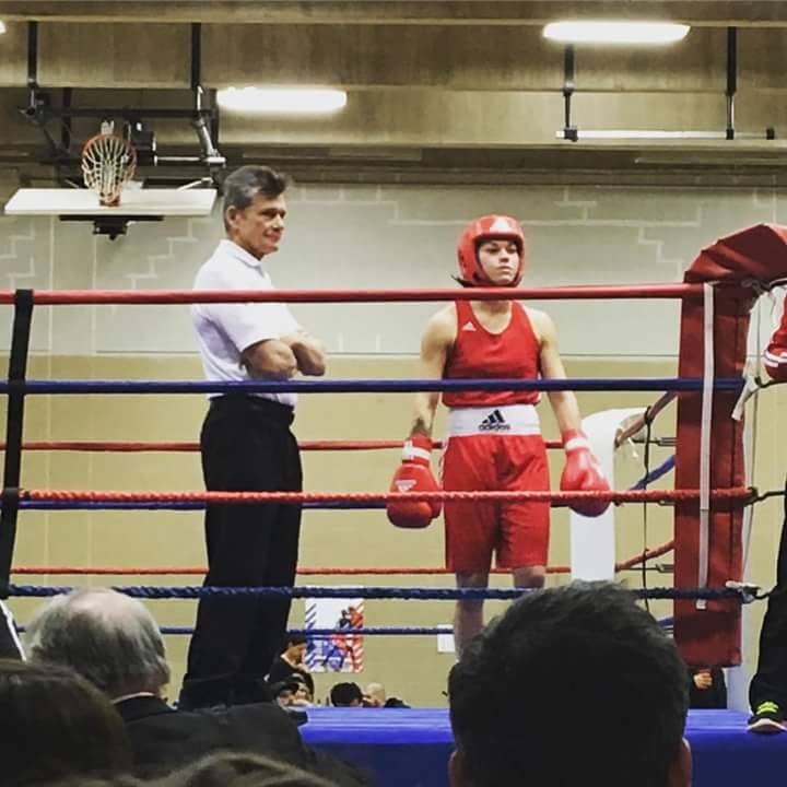 Laury Gervais participera aux Championnats canadiens de boxe en avril. | Photo: Gracieuseté