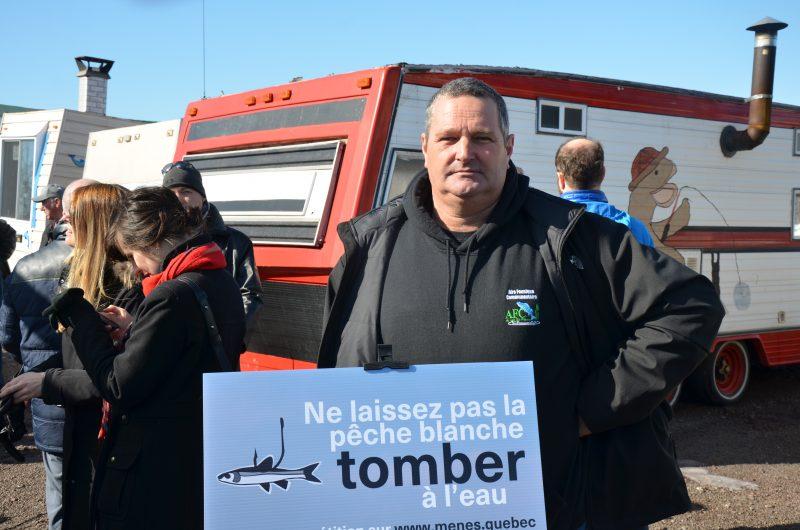 Stéphane Marin, directeur général de l'Aide faunique communautaire du lac Saint-Pierre. | TC Média – Jonathan Tremblay