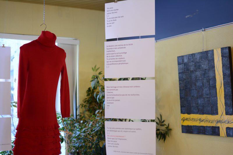 L'œuvre a été inaugurée le 8 mars au Cégep de Sorel-Tracy. | Gracieuseté