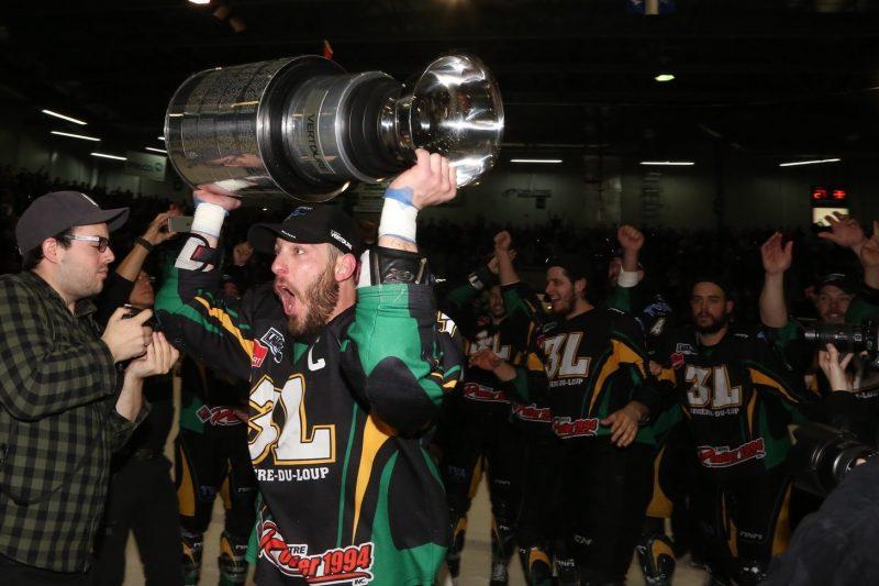 Une victoire pour le moins réjouissante pour les 3L de Rivière-du-Loup. | Photo: TC Media - Pascal Cournoyer