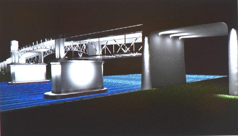 Le pont Turcotte sera illuminé en 2017. | Photo: TC Média – Julie Lambert