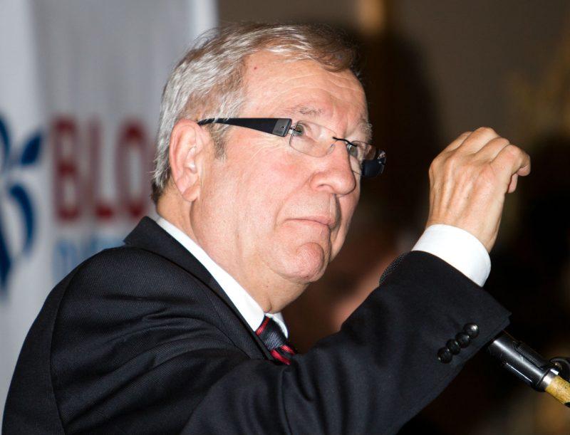 Le député Louis Plamondon a été élu par scrutin majoritaire à un tour. | Photo: TC Média - Pascal Cournoyer